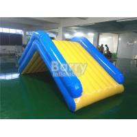 Wholesale Commercial 4 * 2 * 2M Floating Water Inflatable Slide With 0.9mm PVC Tarpaulin from china suppliers