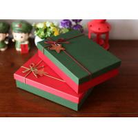 Wholesale 4C Offset Printed Packaging Boxes / Christmas Gift Boxes Scrathed Resistant from china suppliers