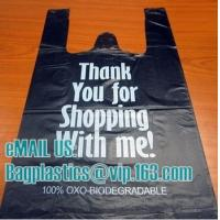 Wholesale black bag, vest carrier, carrier bag, shopping bags, shopper, handy bag, handle bags from china suppliers