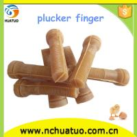 Hot!!! Chicken duck bird plucker fingers rubber finger