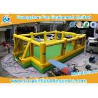 Wholesale Inflatable Soap Football Field Soccer Football Field Big Outdoor Sport Games from china suppliers