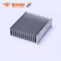 Anodized finish Custom 6061/6063 aluminium hest sink Extruded Aluminum Profile Heat Sink Manufacturer in China for sale