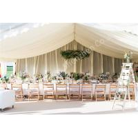 Buy cheap Various Linings Fabric Cover Large Outdoor Tent Canopy For Wedding Reception from wholesalers