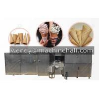 Wholesale full automatic rolled sugar cone production line|ice cream cone production line commercial from china suppliers