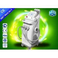 China 3 handles ipl hair removal equipment , ipl permanent hair reduction Elight  +  SHR  +  OPT System on sale