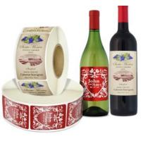 Wholesale Glass Bottles Food Packaging Labels With Multi color Screen Printing from china suppliers