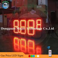 Wholesale LED Gasoline Price Signs/ Gas Station LED Price Display/ Electronic Countdown Timer. from china suppliers