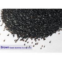 Wholesale Brown 120 Grit Aluminium Oxide Blasting Media 12# - 220# Al2O3 95% Purity High Hardness from china suppliers