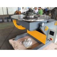 China 1200kg Loading Capacity Rotary Welding Positioner , Small Weld Positioner 1200mm Table on sale