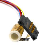 Buy cheap Low Noise Seperate Slip Ring With Low Drive Torque And High Bandwidth Transfer In Security from wholesalers