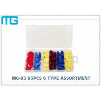 Wholesale 6 Types Terminal Assortment Kit MG - 85 85 Pcs For Machinery / Spinning CE Approval from china suppliers