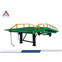 12 Tons Mobile Movable Hydraulic Dock Loading Ramp for Container for sale