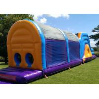 Wholesale Popular Customized Size Certificated Inflatable Obstacle Course With Cover from china suppliers