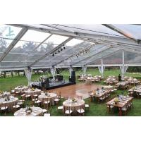 Wholesale Outside Aluminum Profile Wedding Party Tent Beautiful Transparent Fabric from china suppliers