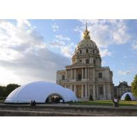 Wholesale Led Light Inflatable Exhition Tent At Night , Permanent Tent With Door For Big Event from china suppliers
