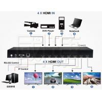 Buy cheap Video Wall HDMI Controller & Matrix Multi Viewer Switch Support 4K 30HZ from wholesalers