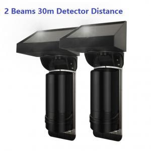 Buy cheap 30m Sensor Distance Solar Powered 2 Beam Wirless IR Infrared Barrier Detector from wholesalers