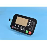 Wholesale PET Custom Membrane Switch Panel With Multi Keys / Embossing Tactile Button from china suppliers