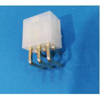 Wholesale Conn 6pos Pcb Header Connector 4.2mm Nylon Natural With Plastic Post Gold Plated from china suppliers