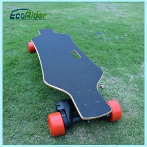 China Waterproof Self Balance 4 Wheel Skateboard With Samsung Lithium on sale