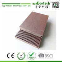 Wholesale Outdoor waterproof solid wpc composite platform deck 145*25 from china suppliers