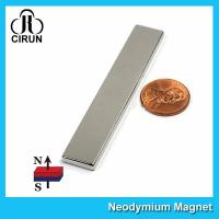 "Wholesale N45 Super Strong Neodymium Magnet Bar Block 3""x 1/2""x 1/8"" inch Big Size from china suppliers"