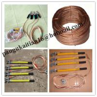 Wholesale Portable electrical earth rod&ground rod,H.V. Earth rod&earthing sets from china suppliers