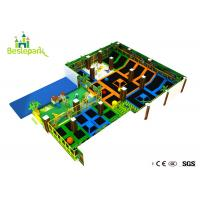 Buy cheap Commercial Play Center Indoor Trampoline Park PP Material Mat With Foam Pit from wholesalers