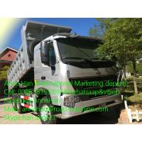 Wholesale SINOTRUK 6 x 4 Howo A7 Heavy Duty Dump Truck 371hp Front  Hyva Lifting 50T from china suppliers