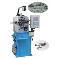 China Computer Control CNC Spring Machine 2 Axis Control For Wire Feed / Pitch Mechanism on sale