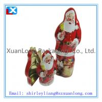 Wholesale Christmas metal tin box for gifts from china suppliers