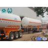Wholesale Low Fuel Consumption Aluminium LPG Semi Trailer Customized Design from china suppliers