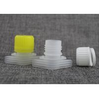 Wholesale 16mm pilferage-proof plastic bottle spout cap top on baby food pouch offer OEM nozzle size from china suppliers
