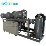 China Silent Commercial Refrigerator Compressor / BITZER Walkin Freezer Compressor Unit for sale