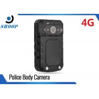 Quality LTE 3G / 4G Wireless Police Body Cameras For Law Enforcement GPS 32GB 3200mAh for sale