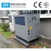 China CE certificated 6 tons small air cooled chillers for plastic and injection mould on sale