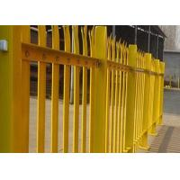 Wholesale PVC Coated Metal Palisade Fence Panels European Style For Road / Railway from china suppliers