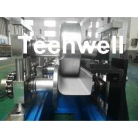 Wholesale U Shaped Seamless Gutter Machine , Gutter Roll Forming Machine for Making Steel Rainwater Gutter from china suppliers
