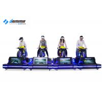 Theater VR Motorcycle Simulator High Headset Resolution 2160 X 1200 Smooth Images
