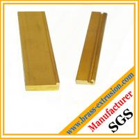 brass copper alloy extrusion profiles section hardware OEM