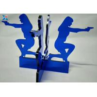 Wholesale Blue Acrylic Shapes Craft / Acrylic Stand For Office Decoration Gifts from china suppliers