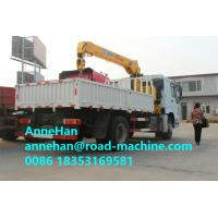 Wholesale Sinotruk 290HPEuro II Right Hand Driving Truck Mounted Crane With Straight Tlescope Boom from china suppliers