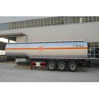 China carbon steel 3 axle 50000 litres fuel oil tanker semi trailer for sale on sale