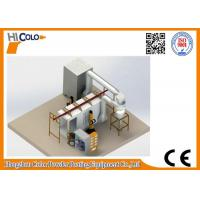 Wholesale Powder Coating Spray Booth with mono cyclone recovery system from china suppliers