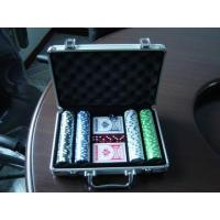 China 200pcs (11.5g) poker chip set in aluminum case on sale