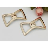 Wholesale Beautiful Bow Knot Summer Buckles For Shoes Non Slip Plastic Bow D670 from china suppliers