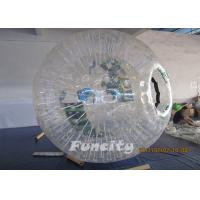 Quality Interesting Inflatable Zorb Ball PVC / TPU Inflatable Zorbings for Sports Entertainment for sale