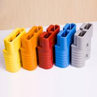 China Durable Custom Industrial Battery Connectors 2 Pin For Forklift / Stacker on sale