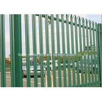 Wholesale Hot Dipped Galvanised Steel Security Fencing , Palisade Security Fence from china suppliers