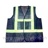 Wholesale S - 5XL Safety Reflective Vest / Safety Reflective Jacket  Or Zipper Closure from china suppliers